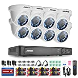 Annke 8-Channel HD-TVI 1080P Security DVR Recorder with 8x 1920TVL (2.1Mega Pixels) In/Outdoor Fixed CCTV Cameras Surveillance System, Smart Motion Detection & Email Alert-NO HDD Review
