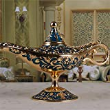 AVESON Luxury Classic Vintage Aladdin Magic Genie Costume Lamp Home Table Decoration & Gift