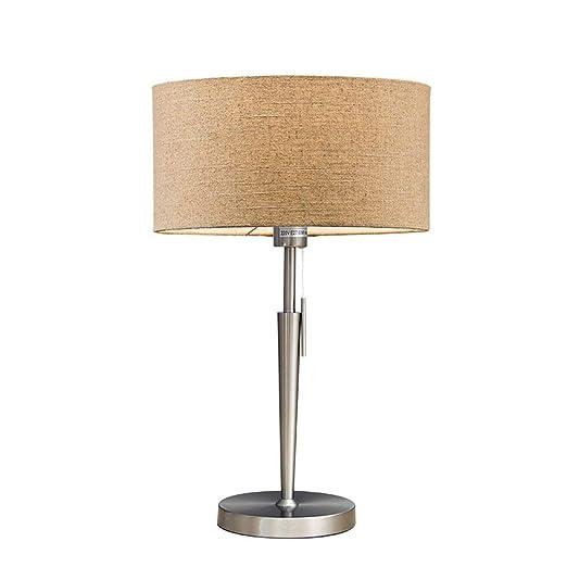 LSSB Mesita de noche de la lámpara, hierro cabecera del arte ...
