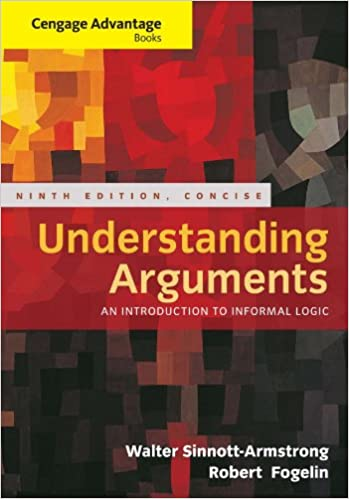 Cengage advantage books understanding arguments concise edition cengage advantage books understanding arguments concise edition 9th edition kindle edition fandeluxe Image collections