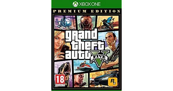 Grand Theft Auto V Premium Edition - Special - Xbox One ...