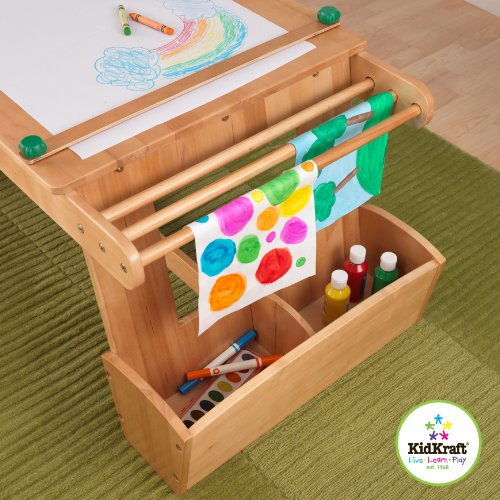 kids art table - 2