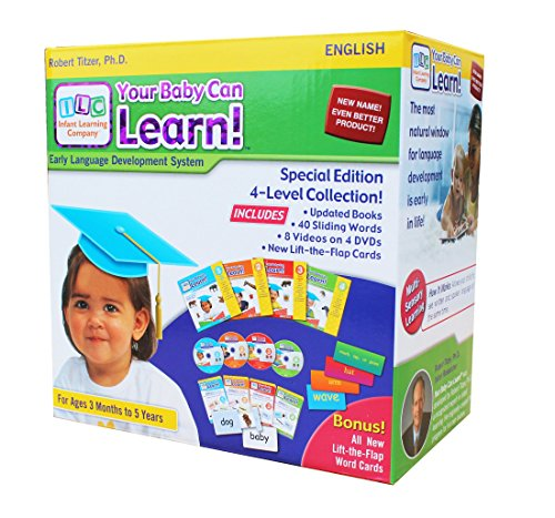 Your Baby Can Learn! 4-Level Kit (Baby Can Read)