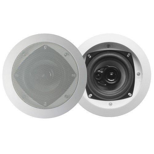 Acoustic Audio CS-IC43 In Ceiling Speakers 3 Way Home Theater 1000 Watt 5 Speaker Set CS-IC43-5S by Acoustic Audio by Goldwood