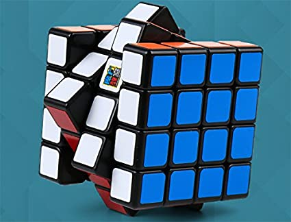 Cubelelo MoFang JiaoShi MF4C 4x4 Black Rubik Rubix Rubic Speed Cube