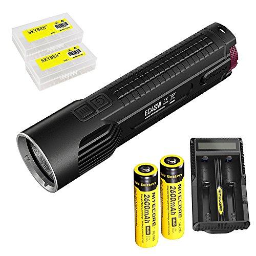 Bundle: Nitecore EC4SW 2000 lumens CREE MT-G2 LED Tactical F