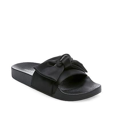 ebe91e052b3 Steve Madden Women's Silky Flat Sandal