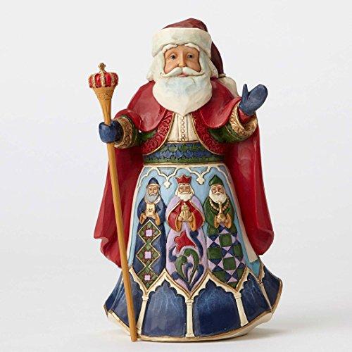 Jim Shore for Enesco JS HWC Fig Spanish Santa Figurine ()