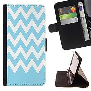 Dragon Case - FOR Samsung Galaxy S4 Mini i9190 - The classic blue - Caja de la carpeta del caso en folio de cuero del tir¨®n de la cubierta protectora Shell
