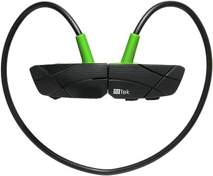 fitTek® Auriculares deportivos Bluetooth de cuello para running ...
