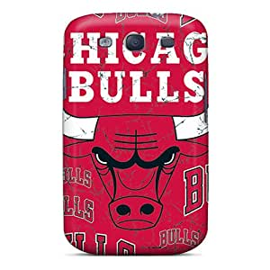 MiniBeauty PMb1151EjmU Protective Case For Galaxy S3(chicago Bulls)