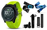 Garmin Forerunner 935 GPS Multisport Watch Ultimate Bundle | Includes Garmin Forerunner 935 Watch, HD Glass Screen Protector, Wearable4U Power Bank, Wearable4U Car / Wall USB Charging Adapters |
