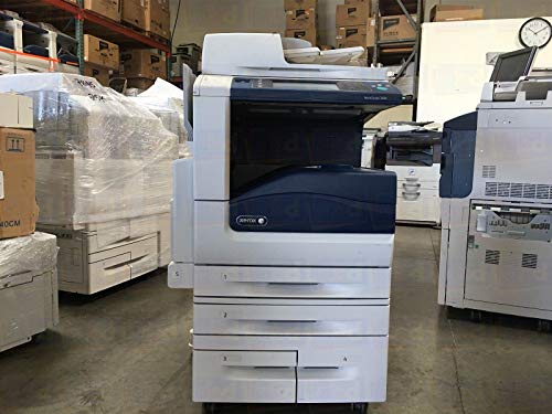 Refurbished Xerox WorkCentre 7855 A3 Tabloid-size Color Multifunction Printer - Copy, Print, Scan, Email, Duplex, Finisher, 1200 x 2400 dpi, 50 ppm, 300K Duty Cycle (Renewed)