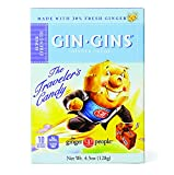 The Ginger People Gin Gins BOOST Super Strength Ginger Candy, 4.5-Ounce Boxes (Pack of 12)