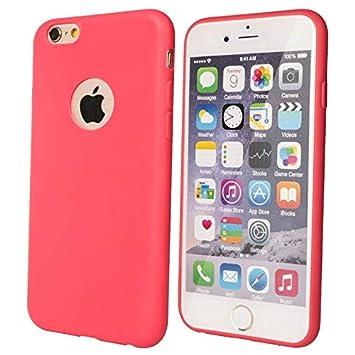 Desconocido Funda de Gel para iPhone 6, iPhone 6s Rosa ...