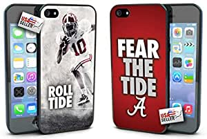 Alabama Crimson Fear The Tide Hard Case TWO PACK for iPhone 5/5s