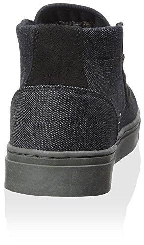 Lugz Heren Prieel Mid-denim Mid-top Sneaker Zwart / Shadow Grey
