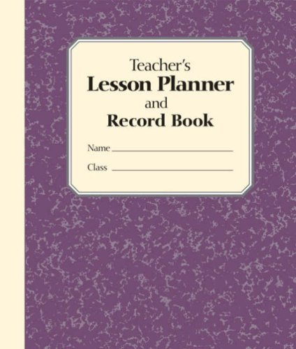 Teacher's Lesson Planner and Record Book by Stephanie Embrey (2008-08-05)