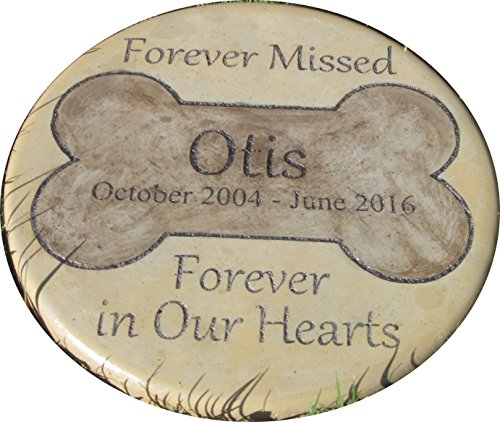 Personalized Pet Memorial Step Stone 11