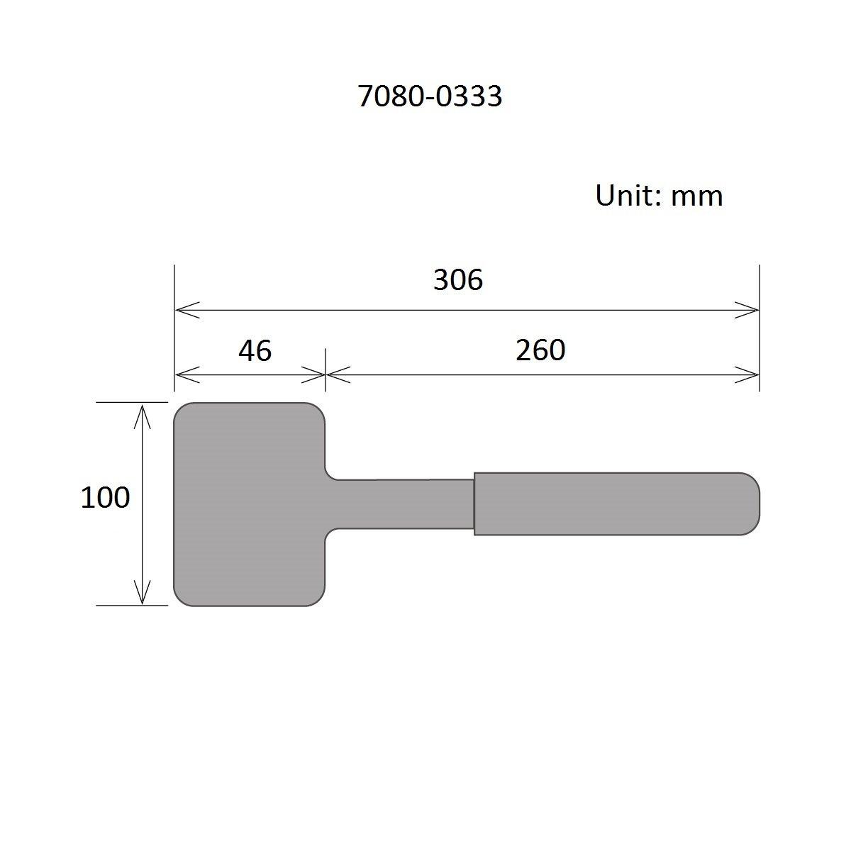 HHIP 7080-0333   24 oz. PU Dead Blow Hammer, 24 oz.