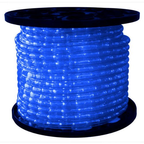 LED - Blue - Chasing - Rope Light - 1/2 in. - 3 Wire - 120 Volt - 148 ft. Spool - FlexTec CFL-15B
