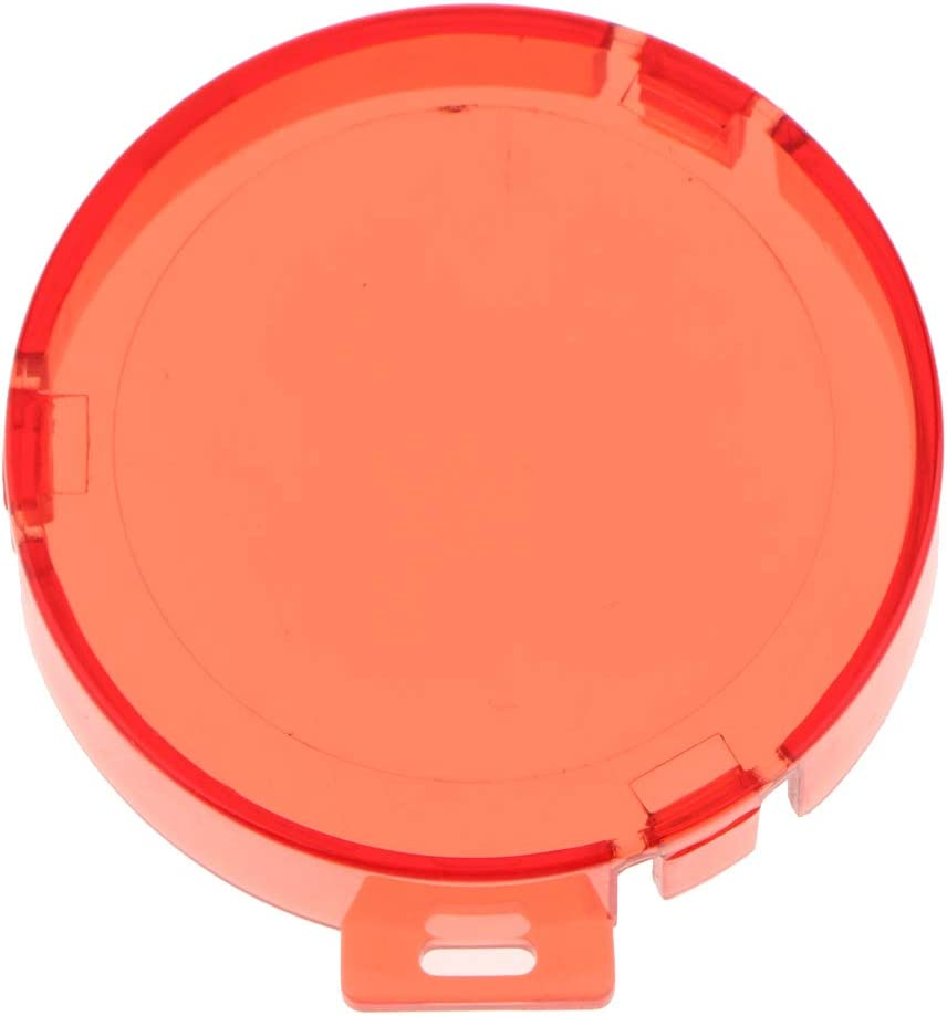 SM SunniMix 30m Waterproof Diving Filter Lens Cover Protective Housing Case for AKASO EK7000 Red