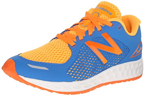 New Balance Nbkjzntibp - zapatos Walking Baby Niños Blu (Blue Orange)