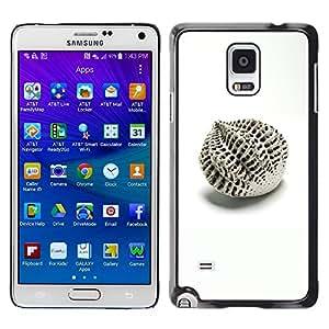 Be Good Phone Accessory // Dura Cáscara cubierta Protectora Caso Carcasa Funda de Protección para Samsung Galaxy Note 4 SM-N910 // Architecture Design Abstract Minimalist