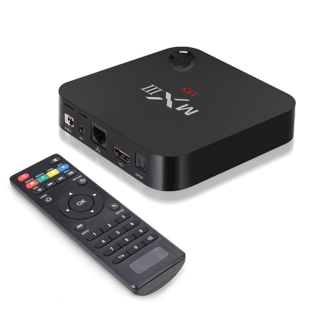 Kukele MXIII 2G/32G Internet Streaming Media Player Android 6.0 Marshmallow TV Box Media Player by KUKELE (Image #5)