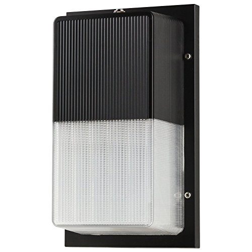 Cheap LB75224 15W LED Wall Pack Fixture, 100W HPS/HID Replacement, 5000K Daylight, 1050 Lumens, Dusk to Dawn Photocell, Waterproof and Outdoor Rated, ETL & DLC Listed