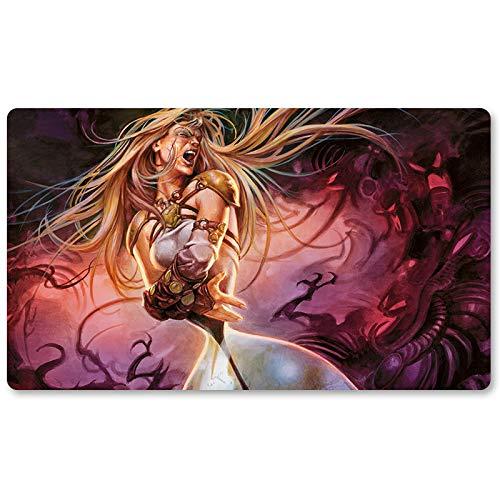 Soul Bleed - ボードゲーム MTG プレイマット テーブルマット ゲーム サイズ 60X35 cm マウスパッド プレイマット 遊戯王 ポケモン マジック ザギャザリング B07KRJ71NR