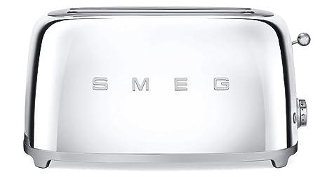 SMEG Tostador TSF02PBEU, 1500 W, Acero Inoxidable, 2 Ranuras, azul pastel: Amazon.es: Hogar