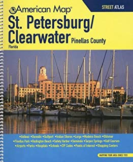Clearwater Florida Map.Rand Mcnally 2007 St Petersburg Clearwater Street Guide Rand