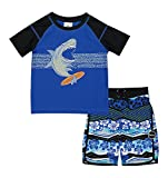 Skechers Toddler Boys' Swim Suit Set with Trunks
