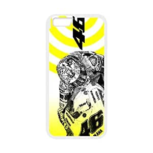 Valentino Rossi 46 iphone6 4.7 inch cell phone case White Beautiful gifts KF0698882