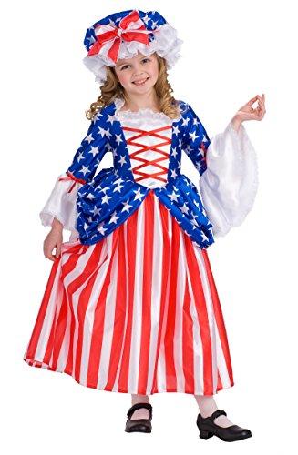 Betsy Ross Child Costume - Medium -