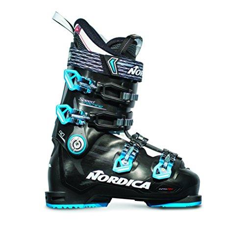 Nordica Speedmachine 90 Ski Boot - Black/Lime 24.5