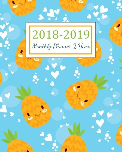 Download 2018-2019 Monthly Planner 2 Year: 2018 - 2019 Two Year Planner  Daily Weekly And Monthly Calendar  Agenda Schedule Organizer Logbook and Journal Notebook (24 Month Calendar Planner) (Volume 2) ebook
