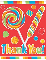 8-Count Thank You Notes, Sugar Buzz
