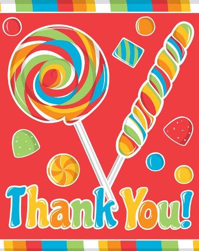 Creative Converting Sugar Thank Notes