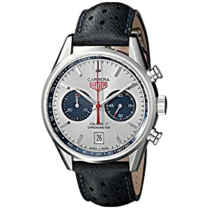 TAG Heuer Men's THCV5111FC6335 Carrera Analog Display Swiss Automatic Blue Watch