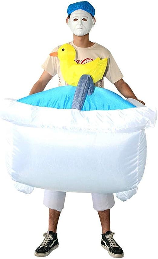 Disfraz de disfraces inflables Disfraz de bañera inflable Clean ...