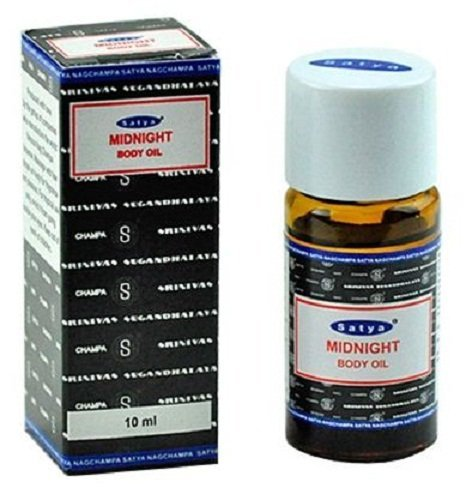 Midnight - Satya Sai Baba Nag Champa Body Oil 10 Ml Bottle - incensecentral.us