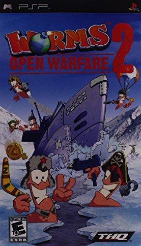 Worms 2 Open Warfare Sony PSP