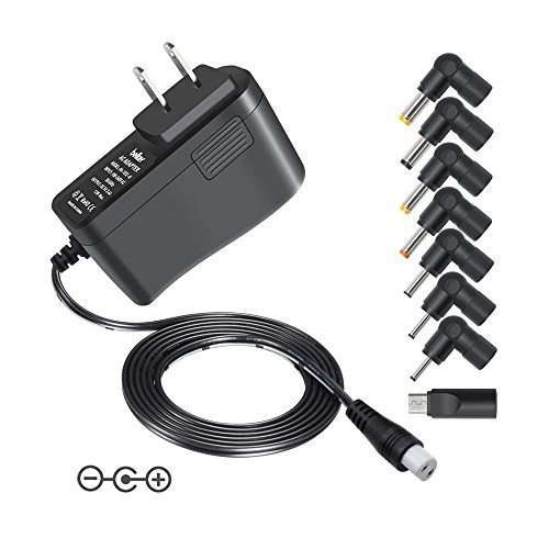 Belker 12W Multi Voltage 3V 4.5V 5V 6V 7.5V 9V 12V Universa