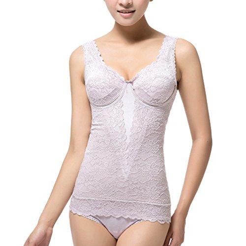 Comfortableinside - Camiseta térmica - para mujer morado