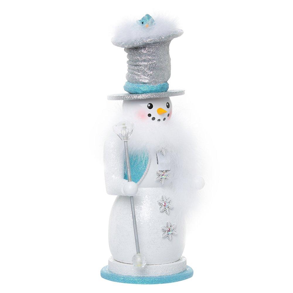 Kurt Adler 16'' Hollywood Snowman Nutcracker