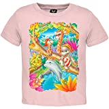 Giraffe Friends Youth T-Shirt - X-Large(18)
