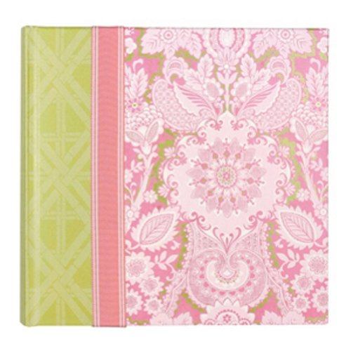 CR Gibson Bound Photo Journal Album with Space for Journaling and CD Storage Pocket, ()