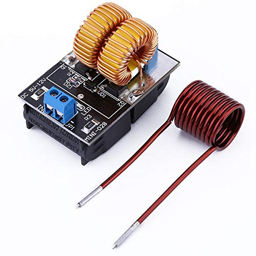 Heater Induction Coil - ZVS Driver Module,5V-12V ZVS Low Voltage Induction Heating Power Supply Board+Heating Coil